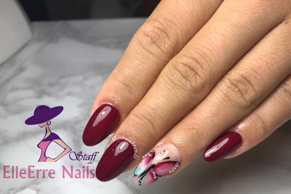 Elleerre nails staff works nail art aerografop pricostruzione unghie in acrilico micropittura p prinsesfo Gallery