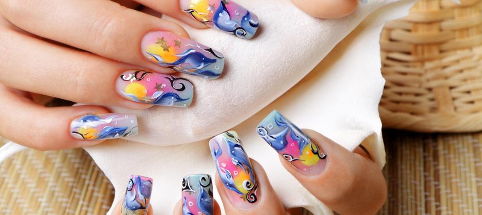 micro painting nails