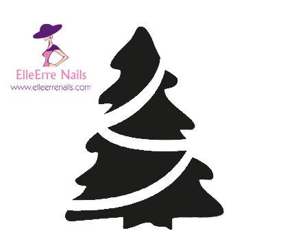 Airbrush Nail Art Stencils ST10